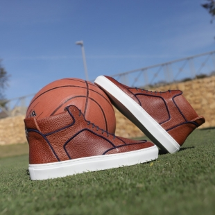 MULTI HIGH TOP CAMEL PEBBLEGRAIN  CAMEL PEBBLEGRAIN, SUEDE BINDING, LEATHER LINING, BLACK LACES, RUBBER SOLE, DUST BAG, SHOE-HORN AND BOX, MADE IN SPAIN  HANDMADE MADE TO ORDER IN 21 DAYS  FOR MEN  📱 www.shoesfactory1985.com #sneakers #zapatos #deportivas #shoes #fashion #spain #handmade #madeinspain #usa #shopping #bespokeshoes #bespokestyle #kill #amazingshoes #style #espardenyes #riviera #drivershoes #drivingshoes #eeuu #unitedstates #baseball #calavera #basketball #basket