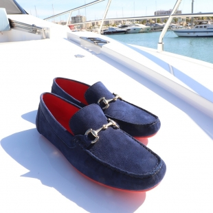 DRIVER ANTE MARINO  NAVY SUEDE, LEATHER LINING, RUBBER SOLE, DUST BAG, SHOE-HORN AND BOX, MADE IN SPAIN, HANDMADE TO ORDER IN 21 DAYS  NEW COLLECTION - AVALIABLE ⤵️  📱 www.shoesfactory1985.com  #shoes #fashion #style #love #instagood #drivershoes #outfit #model #dress #stylish #beautiful #shopping #cute #girl #styles #spain #hair #beauty #me #moda #heels #pretty #design #summer #girls #sneakers #swag #pink #driver #jewelry