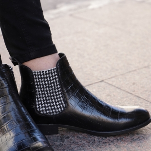 ▶️ GENTLEMAN COCO BLACK  COCO BLACK ELASTIC HOUNDSTOOTH, LEATHER LINING, LEATHER SOLE, 16MM HEEL, DUST BAG, SHOE-HORN AND BOX, MADE IN SPAIN.  HANDMADE MADE TO ORDER IN 21 DAYS.  📱 www.shoesfactory1985.com  #zapatos #moda #fashion #shoes #style #ropa #tienda #love #look #complementos #madrid #calzado #outfit #spain #madeinspain #bcn #barcelona #mujer #shop #estilo #shopping #instagram #malaga #accesorios #españa #bolso #botas #tiendaonline #primavera #like4like